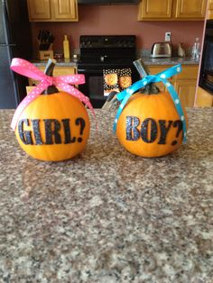I'm using these for a gender reveal photo for our little pumpkin!!!