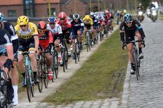 Ian Stannard in the 2015 Kuurne-Brussels-Kuurne Ian Stannard shows that he's just that bit harder than everyone else. And he's smiling