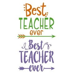 Your place to buy and sell all things handmade Back To School Quotes For Teachers, Teachers Day Card, Silhouette Cameo Projects, Silhouette Design, Ever Quote, Best Teacher Ever, Diy Cutting Board, Teachers' Day, Teacher Quotes