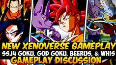 Dragon Ball Xenoverse - Super 17 VS SSJ4 Goku, Super Saiyan God Goku VS ...