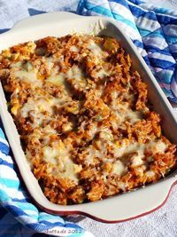 Kritharaki gratin with minced meat, zucchini and sheep's cheese - Abendessen - Salat Beer Recipes, Grilling Recipes, Fish Recipes, Cooking Recipes, Orzo Recipes, Shrimp Recipes, Salmon Recipes, Recipes Dinner, Crockpot Recipes