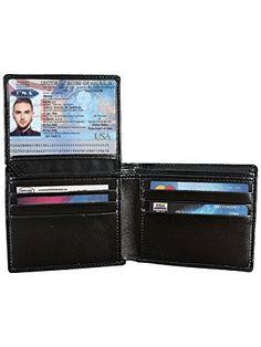 44ff9af25245 Century Star Men s RFID Blocking Vintage Genuine Leather Bifold Card Holder  Wallet Review