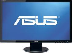 "Asus - 21.5"" Widescreen Flat-Panel LED-LCD HD Monitor - Black, VE228H"