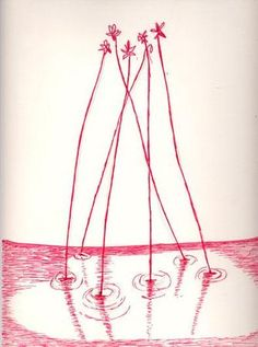 Louise Bourgeois, Untitled, no. 220 of 220, from the series, The Insomnia Drawings, 1994-95 – Ink and pencil on paper