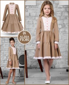 - Dresses and coats for girls and women. Abiti e cappotti per ragazze e donne. Robes et manteaux pour les filles et les femmes. Vestidos y abrigos para ninas y mujeres. Baby Girl Dress Patterns, Dress Sewing Patterns, Little Girl Dresses, Baby Dress, The Dress, Girls Fashion Clothes, Baby Girl Fashion, Fashion Kids, Girl Outfits