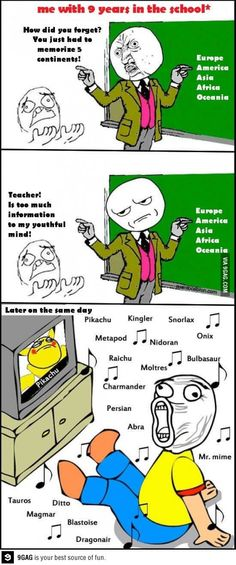 Meme comic strip