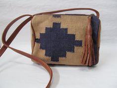 Southwest chic navajo cross body purse