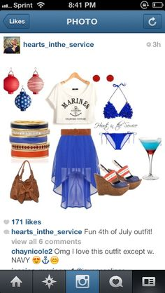 Great Milso Outfit For 4th Of July