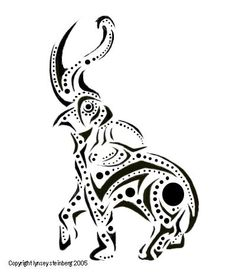 elephant tattoo... I would love this style for a turtle