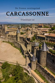 Discover the French fortified city of Carcassonne - The French fortified city of Carcassonne is visited by 3 million tourists every year. Carcassonne, Languedoc Roussillon, Mont Saint Michel, Beautiful Places To Travel, Vietnam, France Travel, Travel With Kids, Budget Travel, Travel Usa