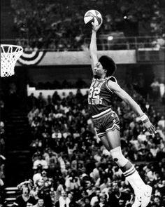 Julius Erving, New York Nets, ABA All-Star Challenge, 1/27/1976