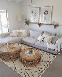 51 Simple living room design in country house style - living room decor - 51 Simple . 51 Simple living room design in country house style – Living room decor – 51 Simple living room Boho Living Room, Interior Design Living Room, Living Room Designs, Simple Living Room Decor, Living Room With Carpet, Ikea Living Room, Living Room On A Budget, Cozy Living Rooms, White Living Room Paint