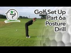 Quick posture golf drill to get the perfect golf posture during set up.