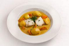 Halibut & Spicy Butternut Squash 'Soup': 'It's great to watch dad cook like an alchemist, throwing ingredients into a pot. But we all know it will taste delicious. Family Meals, Family Recipes, Roasting Tins, Thing 1, Halibut, Deep Dish, Alchemist, The Fresh