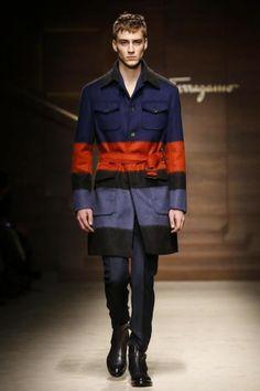 Milan Menswear A/W 2014 /15 Salvatore Ferragamo