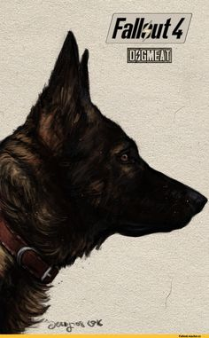 AndersLover,Dogmeat,Псина,Fallout существа,Fallout монстры, Fallout мутанты,,Fallout,фаллаут приколы,фэндомы,Fallout 4