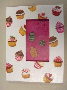 """cahier ou carnet """" Cupcakes """"pour noter vos recettes préférées : Carnets, agendas par imagicadre"""