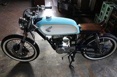 Honda CB50J Café Racer - Pipeburn - Purveyors of Classic Motorcycles, Cafe Racers & Custom motorbikes KOSCH-MANN