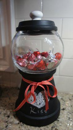 Happy Valentine's Day!! DIY Candy Machine