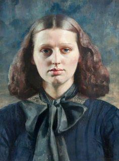 Gerald Leslie Brockhurst, BBC - Your Paintings - Dorette