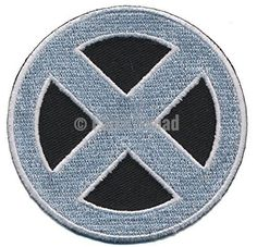 Patch Squad Men's Marvels X-men Apocalypse Strom Costume Cosplay Embroidered Patch(Silver)
