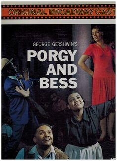 Porgy and Bess - Original Broadway Cast - LP Todd Duncan, Anne Brown. #MusicalOriginalCast