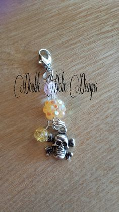 Skull and cross bones ecig charm by DoubleHelixDesigns on Etsy, $6.99