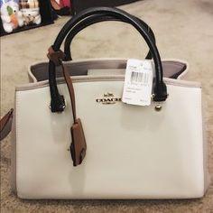 Coach Handbags - Brand new tricolor coach bag