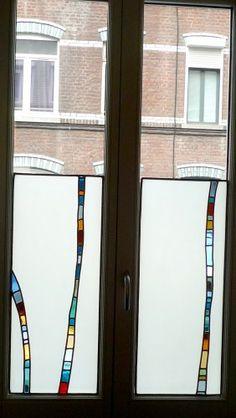 vitrail,création verre, création, lille, atelier, photophore, roulie, julie bernard