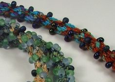 Marion Jewels in Fiber - News and Such: Playing with Kumihimo Braids