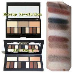 Kat von d shade and light eye palette affordable drugstore dupe from Ulta. NEW RELEASE MAKEUP REVOLUTION Ultra Eye Contour Light & Shade Palette…