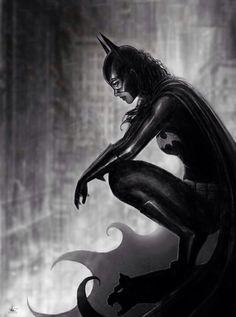 Batgirl, Barbara Gordon by Nathan Szerdy (DC Comics) Batman Und Catwoman, Batman And Batgirl, Im Batman, Batman Art, Superman, Gotham Batman, Batgirl Logo, Batman Robin, Comic Book Characters