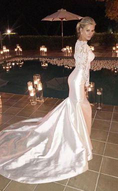 Bridal Beauty from Morgan Stewart & Brendan Fitzpatrick's Wedding Album | E! Online