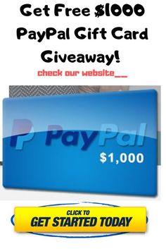Paypal Gift Card, Visa Gift Card, Gift Card Giveaway, Online Gift Cards, Get Gift Cards, Gift Card Exchange, Paypal Hacks, Free Gift Card Generator, Money Generator