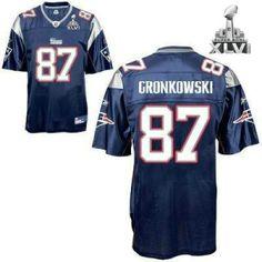 Nike New England Patriots #87 Rob Gronkowski Gray Shadow Elite ...