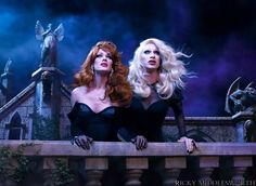 Jinkx Monsoon and Ivy Winters Death Becomes Her Photo Shoot