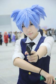 Nagisa cosplay from assasination