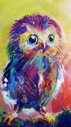 This Owl is very peaceful! I love you Ashlie Terry! Mom