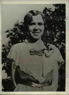 1931 Press Photo Gladys Wood Pleasantville NJ girl disappeared