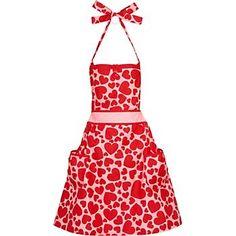 valentines day apron :)