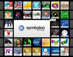 90+ iPad and AppS para educación creado con symbaloo