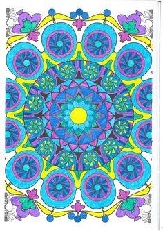 Pag 27, art therapy, colorir, mandalas