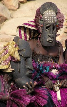Dogon Masks by zrim, via Flickr