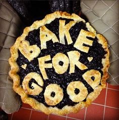 King Arthur Flour's #bakeforgood initiative! This makes me excited to do some baking-for-good in my future...