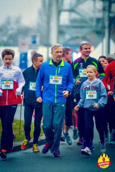 "King Philippe Pictures: King Philippe and three of his kids take part in the ""Warmathon"" for Music For Life.  18-12-2016"