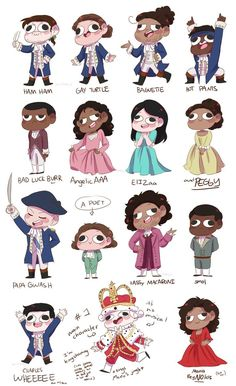My children! My favorites are definitely Hot pant, A poet, and Maria ReyNOlds