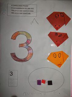 Construindo saberes na Educação Infantil: Meu livro dos números