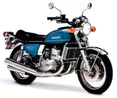 "Suzuki GT-750 ""Water Buffalo"" My first water cooled bike."