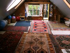 A space to meditate and practice yoga