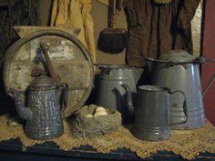 love gray graniteware